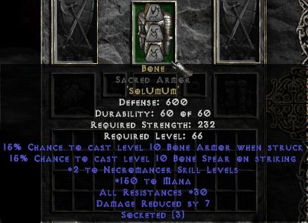Diablo  Crafting Storage