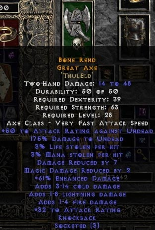 crafted items diablo wiki