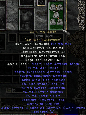 Call To Arms Diablo Wiki