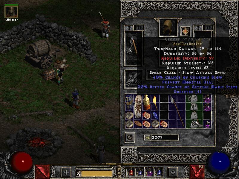 User talk:Irishred1357 - Diablo Wiki