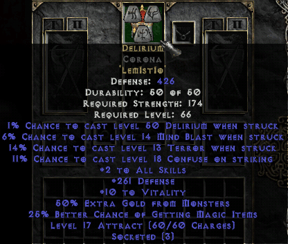 Diablo  Can You Use Ethereal Items For Crafted